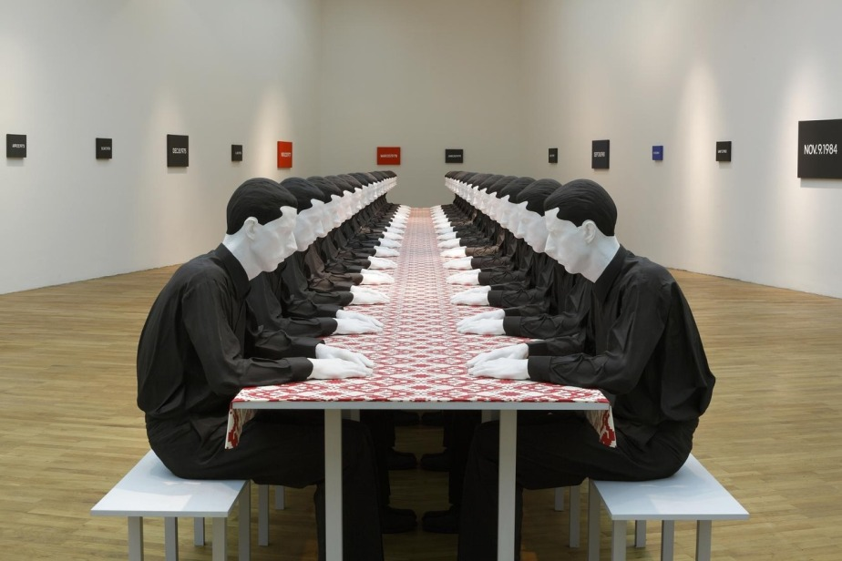 Katharina Fritsch Tischgesellschaft (Company at the Table), 1998 (1)