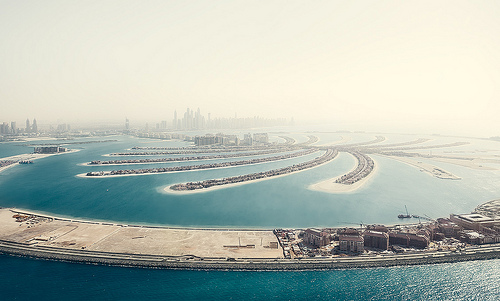 'Dreaming of Dubai' - photographed many times, but rarely quite as impressive of this - fascinating aerial photographs of Dubai by Johannes Heuckeroth
