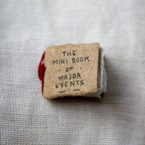 The Mini Book of Major Events by Evan Lorenzen (1)