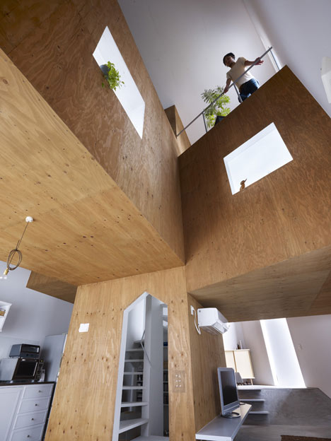 House in Fukawa by Suppose Design Office (1)