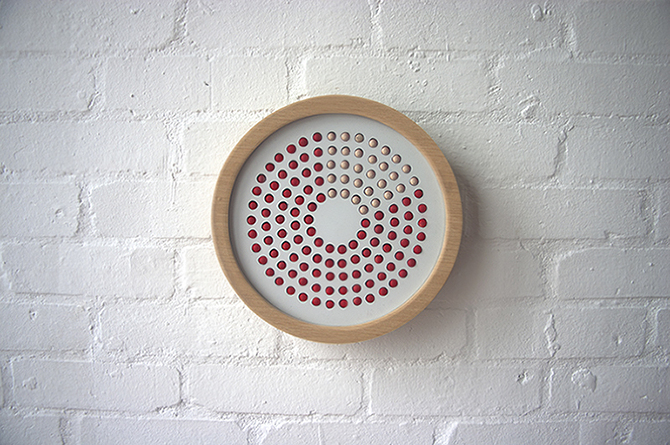 By The Hour by Jess FüglerBy the Hour is a concept prototype that looks to tell time without using numbers but instead looks to use an alternating surface (1)