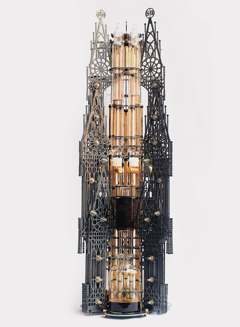 Dutch lab's 'Gothicism' is an aesthetically intricate device that uses the cold drip method to produce cups of coffee (1)