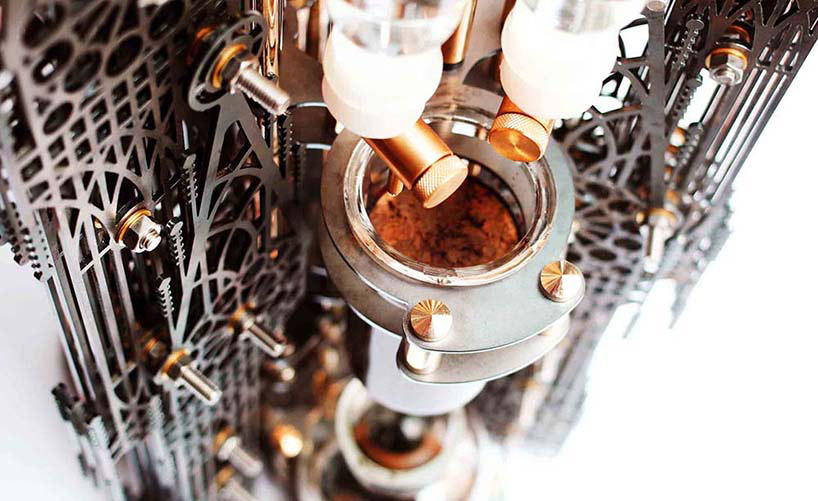 Dutch lab's 'Gothicism' is an aesthetically intricate device that uses the cold drip method to produce cups of coffee (3)