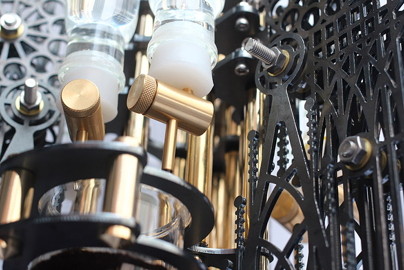 Dutch lab's 'Gothicism' is an aesthetically intricate device that uses the cold drip method to produce cups of coffee (4)