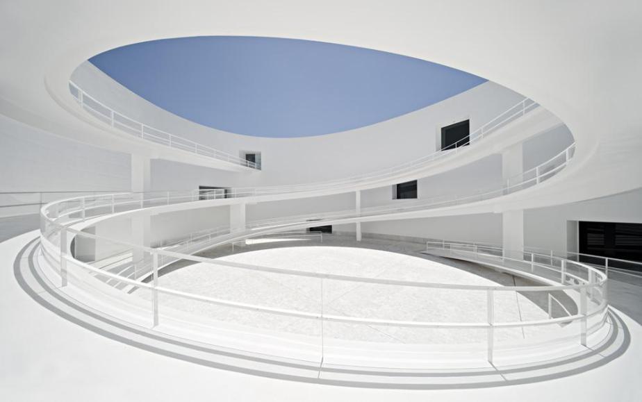 Museo de la Memoria de Andalucía Granada Spain by Alberto Campo Baeza (2)