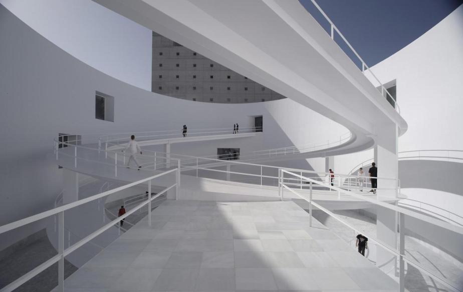 Museo de la Memoria de Andalucía Granada Spain by Alberto Campo Baeza (4)