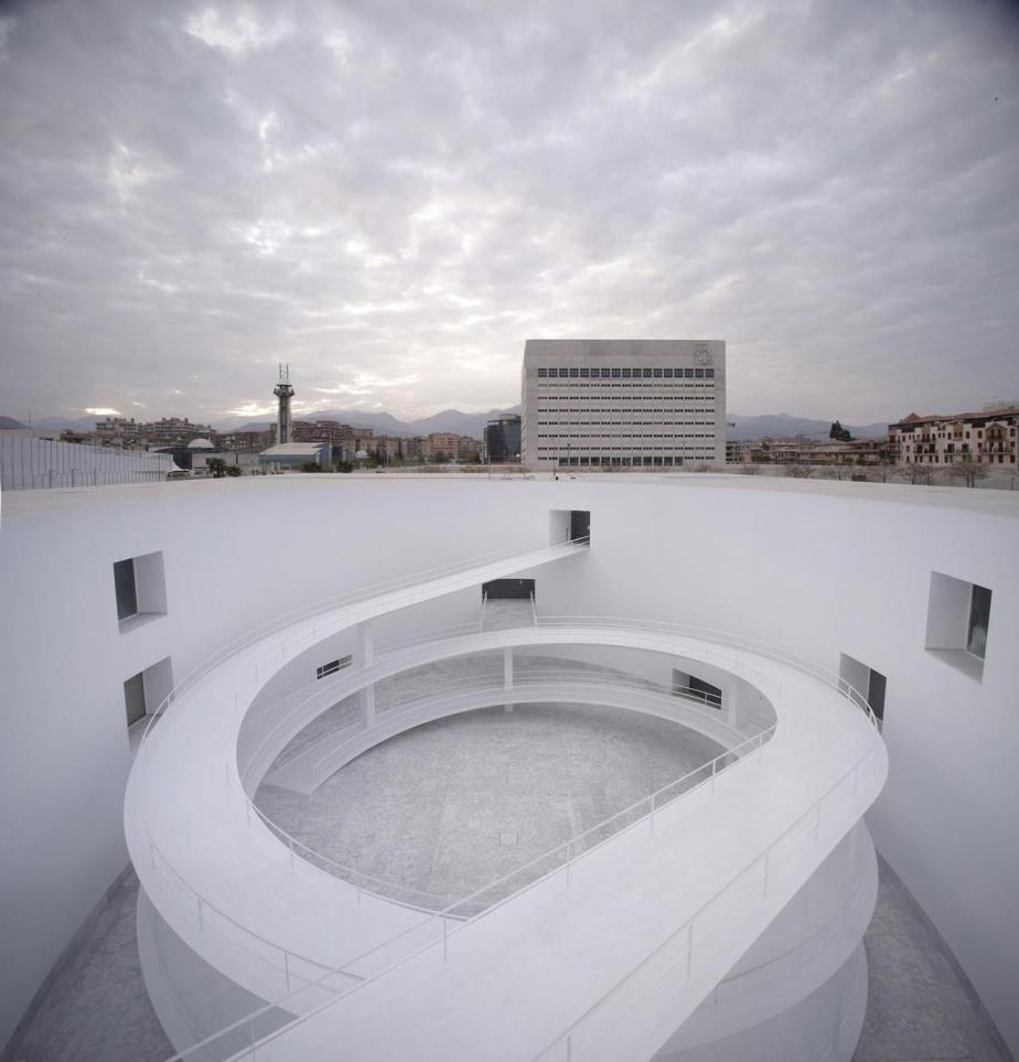 Museo de la Memoria de Andalucía Granada Spain by Alberto Campo Baeza (5)