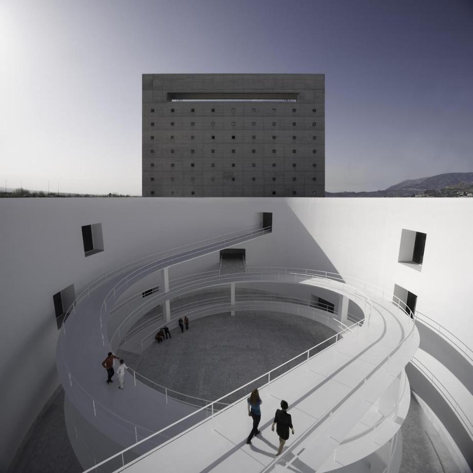 Museo de la Memoria de Andalucía Granada Spain by Alberto Campo Baeza (6)