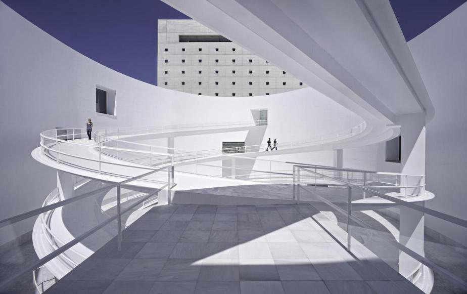 Museo de la Memoria de Andalucía Granada Spain by Alberto Campo Baeza (7)