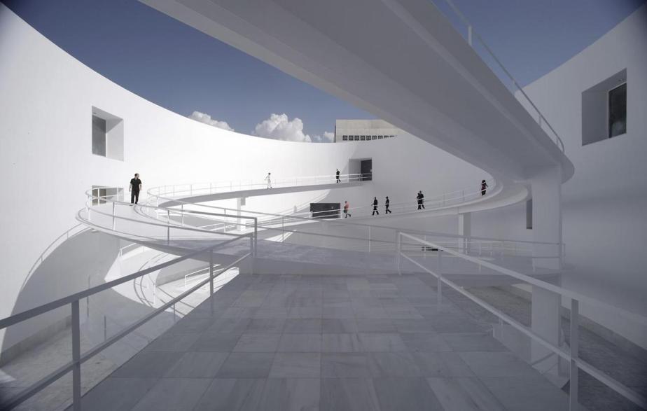 Museo de la Memoria de Andalucía Granada Spain by Alberto Campo Baeza