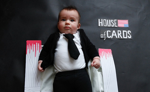 California-based photographer Karen Abad dressed up her friend's adorable baby as popular TV show characters