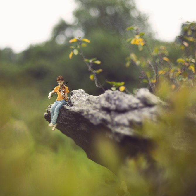 fiddleoak– Miniature Photography (2)