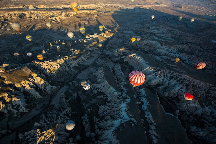 Fly in a Hot Air Balloon Over Cappadocia, Turkey (2)