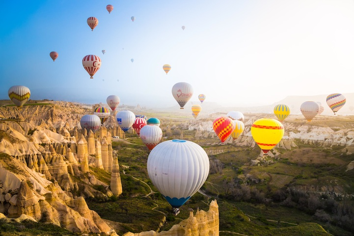 Fly in a Hot Air Balloon Over Cappadocia, Turkey (4)