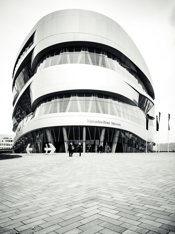 Mercedes Benz Museum at Stuttgart (1)