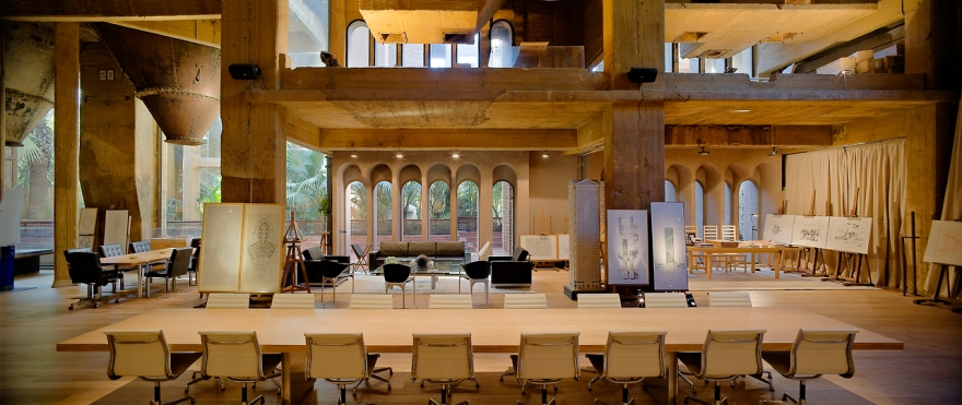 The Factory, Sant Just Desvern, Spain by Ricardo Bofill (4)