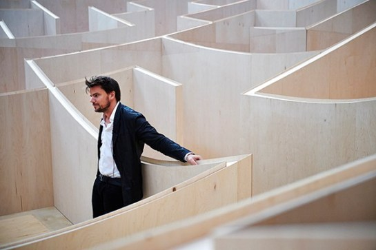 Giant Bjarke Ingels Group Maze Opens The 60-foot maze opens today at the National Building Museum in Washington, D.C (4)