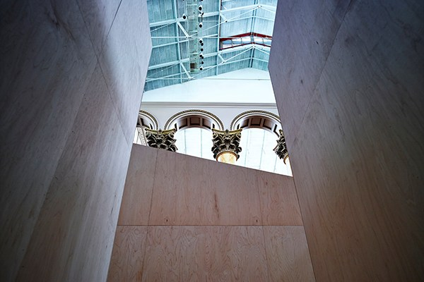 Giant Bjarke Ingels Group Maze Opens The 60-foot maze opens today at the National Building Museum in Washington, D.C (5)