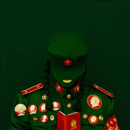 Kimiko Yoshida.The Mao Bride (Red Guard Red).Self Portrait, 2009 (1)
