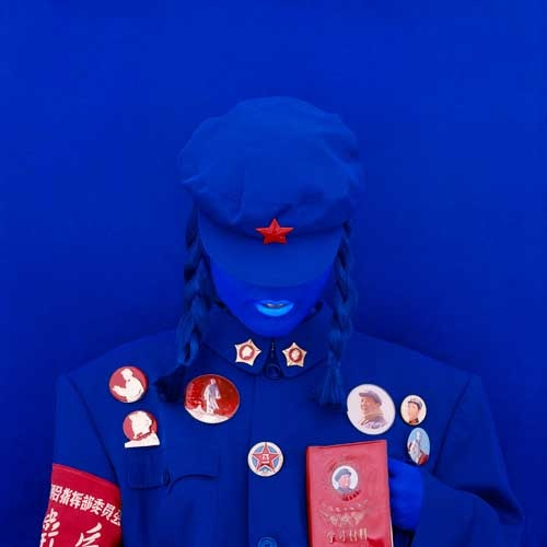 Kimiko Yoshida.The Mao Bride (Red Guard Red).Self Portrait, 2009 (2)
