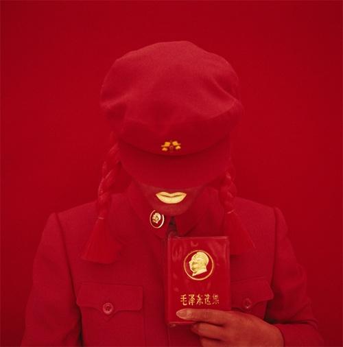 Kimiko Yoshida.The Mao Bride (Red Guard Red).Self Portrait, 2009 (3)