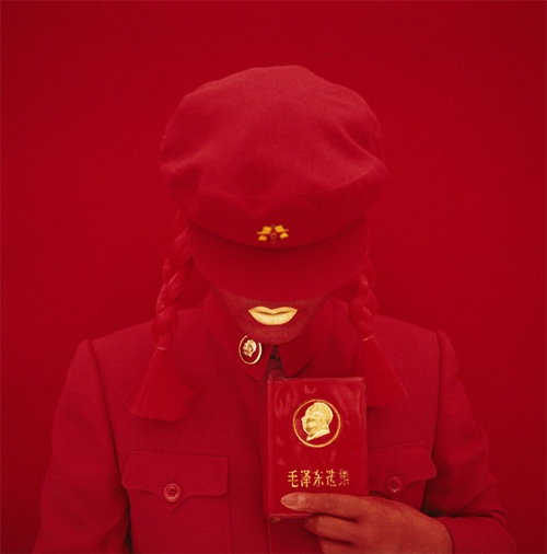Kimiko Yoshida.The Mao Bride (Red Guard Red).Self Portrait, 2009 (3)