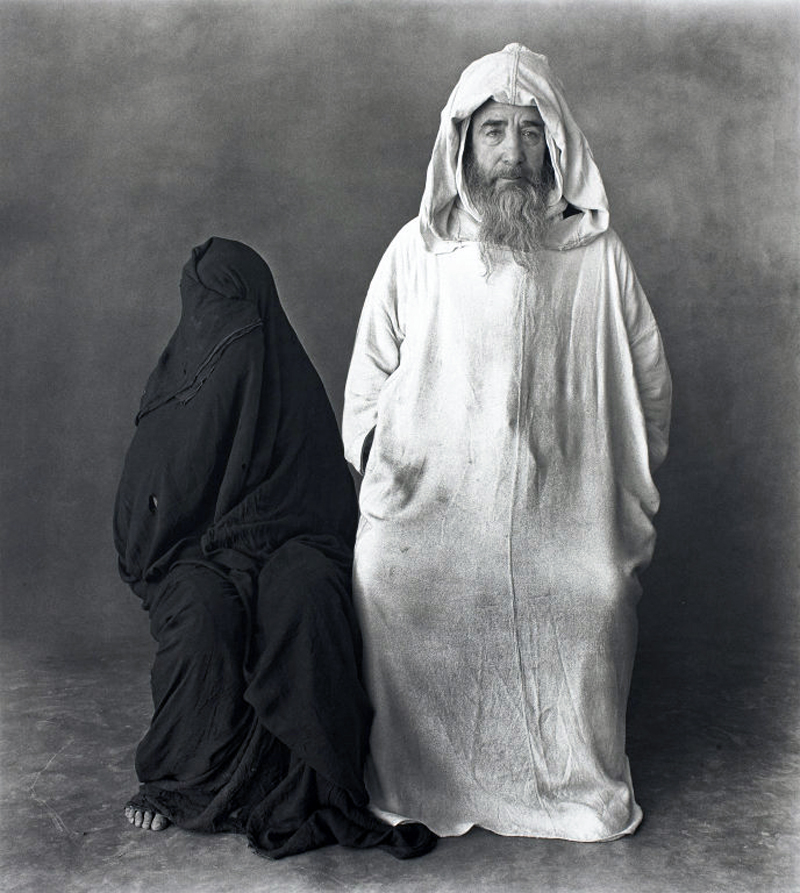 Irving Penn - Veiled Mystery of Morocco (1972)
