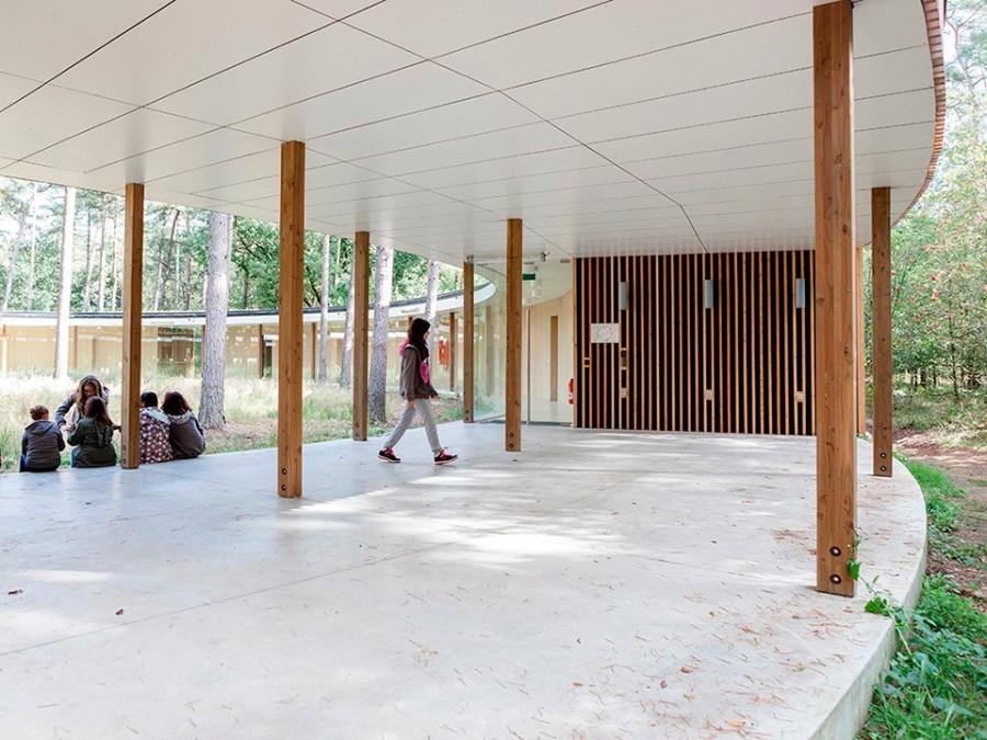 Studio Associato Bernardo Secchi Paola Viganò. Hostel Wadi. De Hoge Rielen, Kasterlee. Belgium. photos Frederik Buyckx (3)